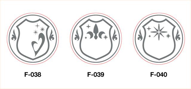 シーリングスタンプ・フレームデザイン